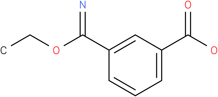 3-(ethoxy(imino)methyl)benzoic acid