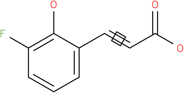 3-(3-fluoro-2-hydroxy-phenyl)-acrylic acid