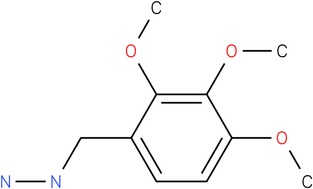 1-(2,3,4-trimethoxybenzyl)hydrazine