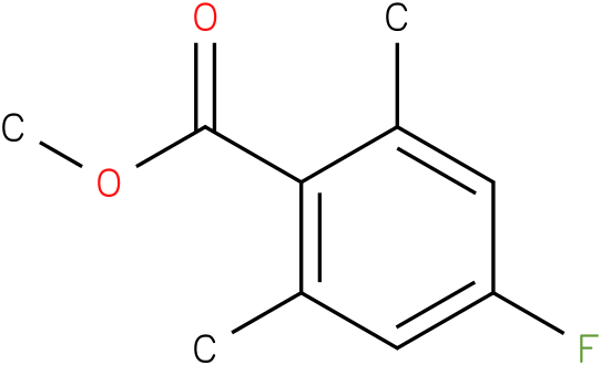 methyl 4-fluoro-2,6-dimethylbenzoate
