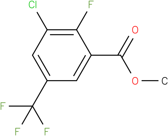 methyl 3-chloro-2-fluoro-5-(trifluoromethyl)benzoate