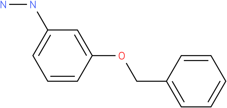 1-(3-(benzyloxy)phenyl)hydrazine