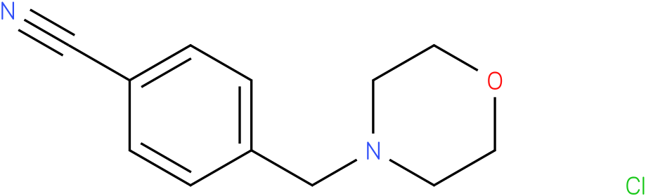 4-(morpholinomethyl)benzonitrile