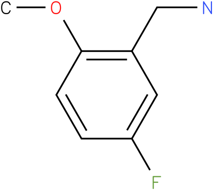 (5-fluoro-2-methoxyphenyl)methanamine