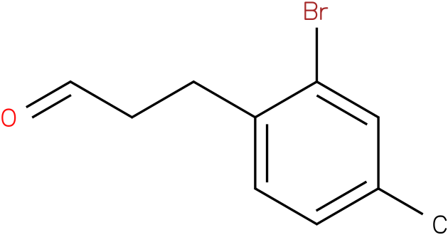 3-(2-bromo-4-methylphenyl)propanal