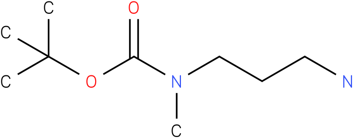 n-(3-amino-propyl)-n-methylcarbamic acid t-butyl ester