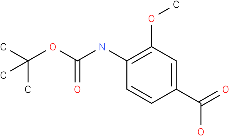 boc-4-amino-3-methoxybenzoic acid