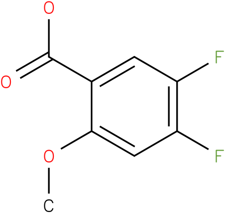 4,5-difluoro-2-methoxybenzoic acid