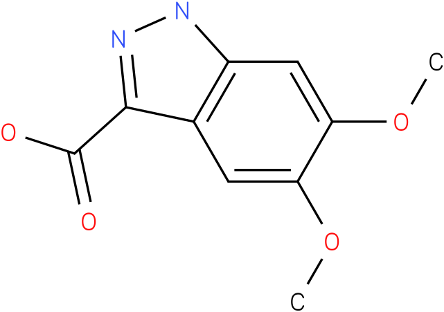 5,6-dimethoxy-1h-indazole-3-carboxylic acid