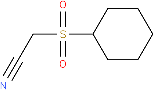 2-(cyclohexylsulfonyl)acetonitrile
