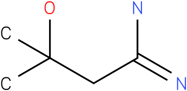 3-hydroxy-3-methylbutanamidine