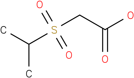2-(isopropylsulfonyl)acetic acid