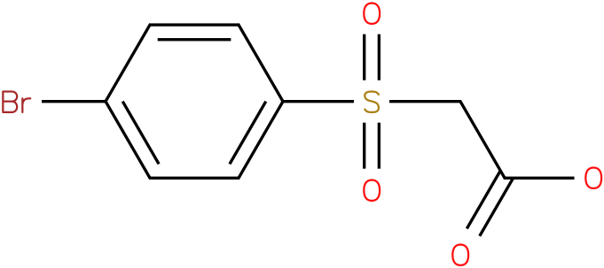 2-(4-bromophenylsulfonyl)acetic acid