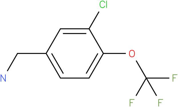 (3-chloro-4-(trifluoromethoxy)phenyl)methanamine