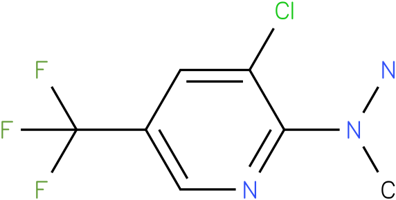 1-(3-chloro-5-(trifluoromethyl)pyridin-2-yl)-1-methylhydrazine