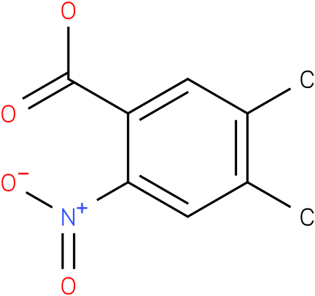 4,5-dimethyl-2-nitrobenzoic acid