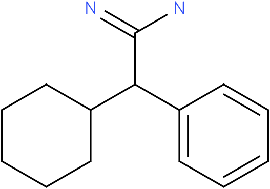 2-cyclohexyl-2-phenylacetamidine