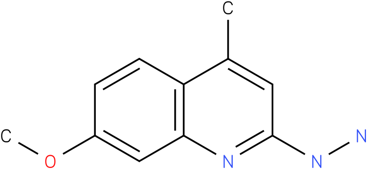 1-(7-methoxy-4-methylquinolin-2-yl)hydrazine