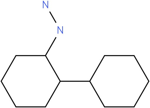 2-(cyclohexyl)cyclohexylhydrazine