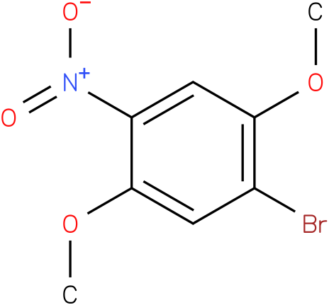 1-bromo-2,5-dimethoxy-4-nitrobenzene