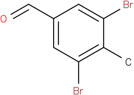 3,5-dibromo-4-methylbenzaldehyde