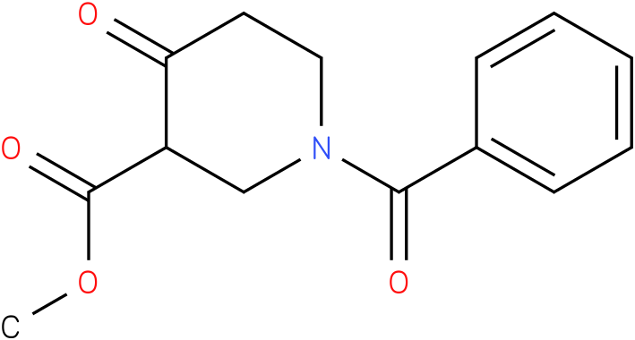 methyl 1-benzoyl-4-oxopiperidine-3-carboxylate