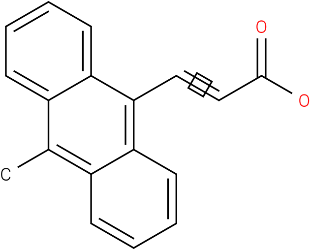 (E)-3-(10-methylanthracen-9-yl)acrylic acid