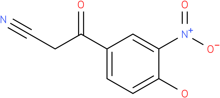 3-(4-hydroxy-3-nitrophenyl)-3-oxopropanenitrile