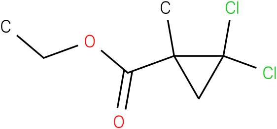 ethyl 2,2-dichloro-1-methylcyclopropanecarboxylate