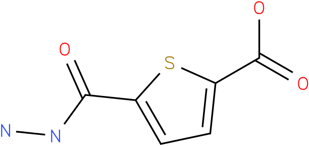 5-carboxythiophene-2-carbohydrazide
