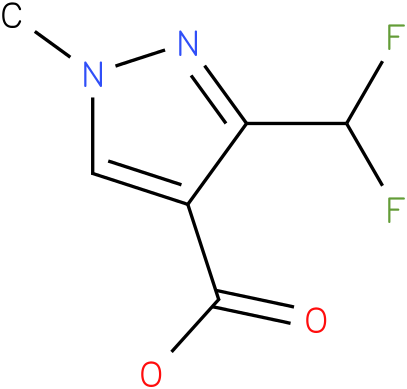3-(difluoromethyl)-1-methyl-1H-pyrazole-4-carboxylic acid