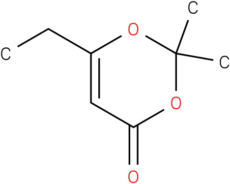 6-Ethyl-2,2-dimethyl-4-H-1,3-dioxin-4-one