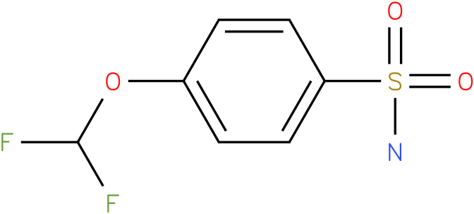 4-(DIFLUOROMETHOXY)BENZENESULFONAMIDE