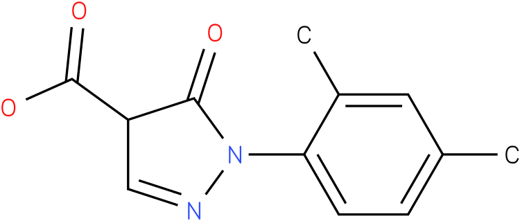 1-(2,4-dimethylphenyl)-5-oxo-4,5-dihydro-1H-pyrazole-4-carboxylic acid