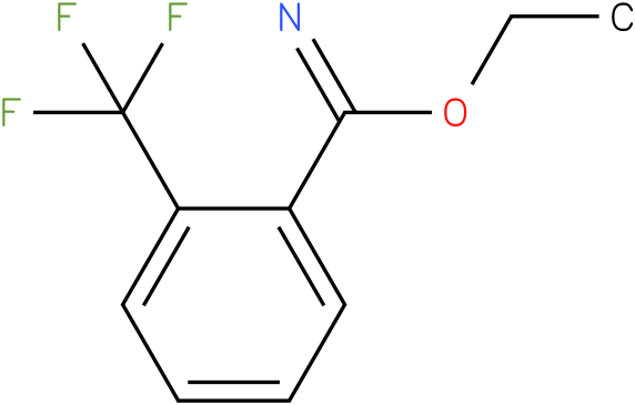 ethyl 2-(trifluoromethyl)benzoimidate