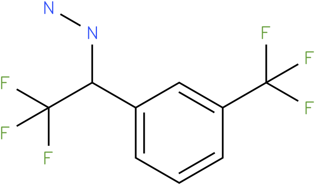 1-(2,2,2-trifluoro-1-(3-(trifluoromethyl)phenyl)ethyl)hydrazine