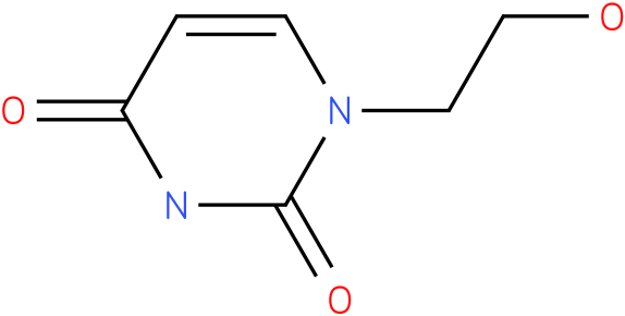 1-(2'-HYDROXYETHYL)URACIL
