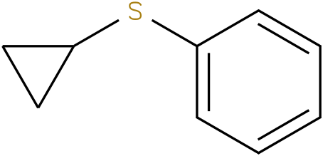 CYCLOPROPYL PHENYL SULFIDE