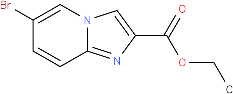 ETHYL 6-BROMOIMIDAZO[1,2-A]PYRIDINE-2-CARBOXYLATE