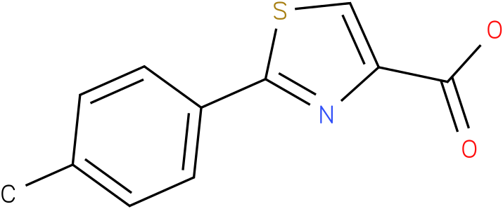 2-(4-METHYLPHENYL)-1,3-THIAZOLE-4-CARBOXYLIC ACID