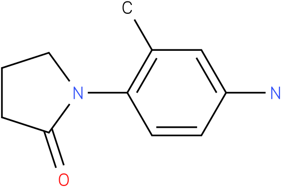 1-(4-AMINO-2-METHYLPHENYL)PYRROLIDIN-2-ONE