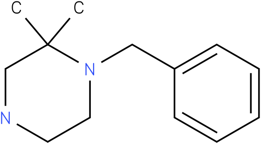 1-benzyl-2,2-dimethylpiperazine