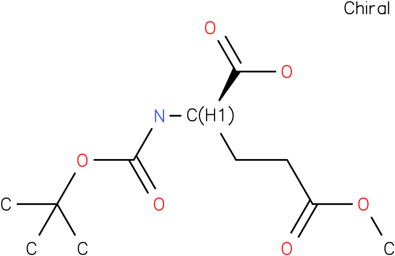 (R)-2-(tert-butoxycarbonylamino)-5-methoxy-5-oxopentanoic acid
