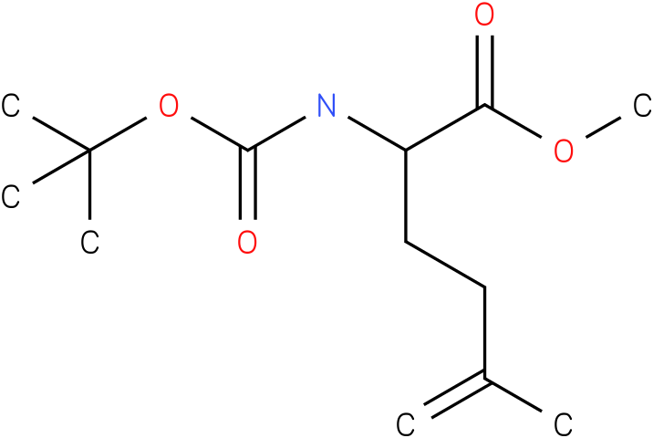 methyl 2-(tert-butoxycarbonylamino)-5-methylhex-5-enoate