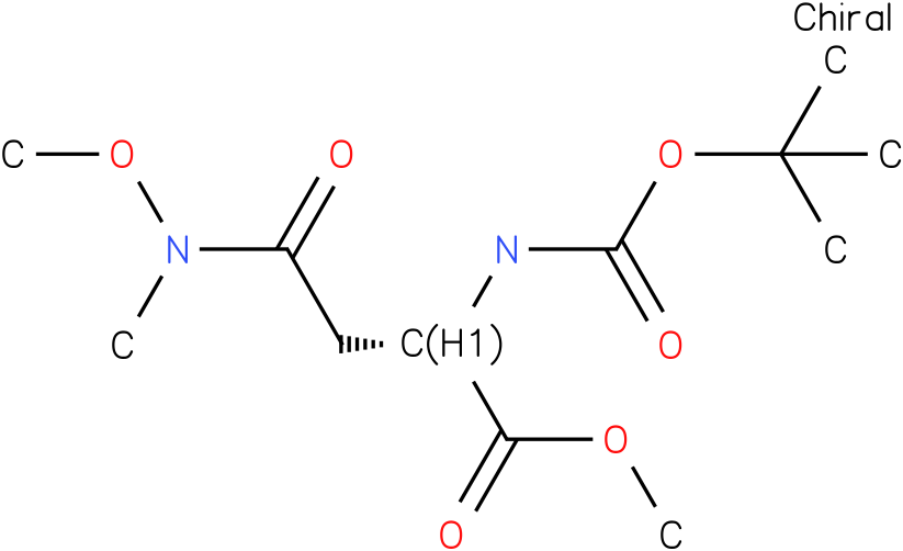 (S)-methyl 3,10,10-trimethyl-4,8-dioxo-2,9-dioxa-3,7-diazaundecane-6-carboxylate