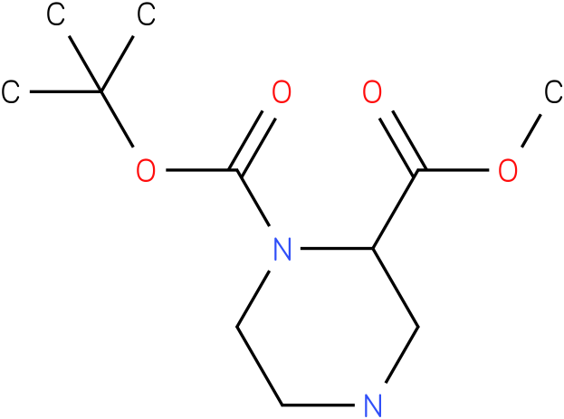 (R)-1-N-Boc-piperazine-2-carboxylic acid methyl ester