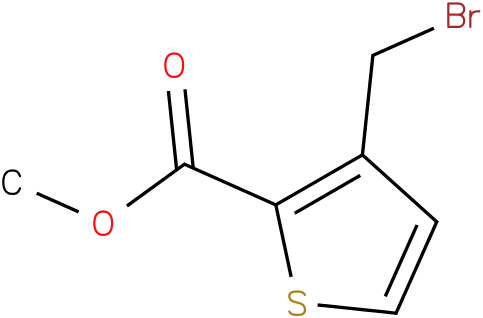 3-Bromomethyl-thiophene-2-carboxylic acid methyl ester