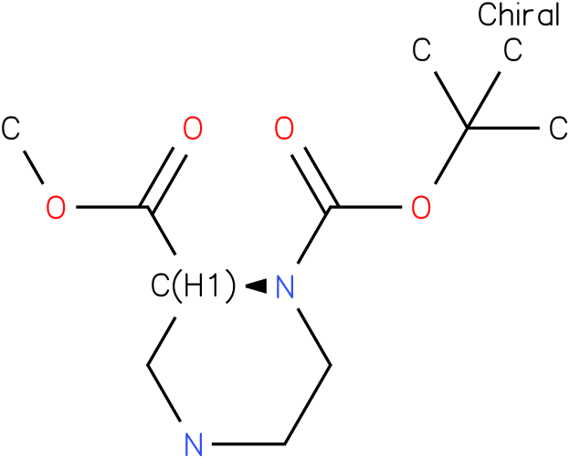 (S)-1-N-Boc-piperazine-2-carboxylic acid methyl ester