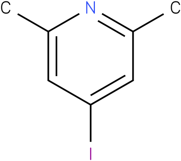 2,6-dimethyl-4-iodo-pyridine