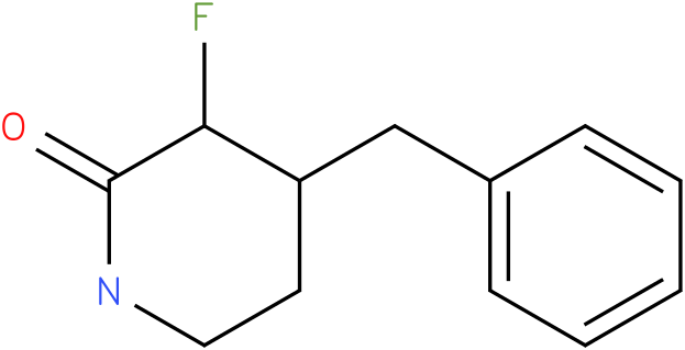 1-benzyl-3-fluoropiperidin-4-one